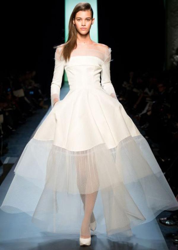 59e011050ab Свадебные платья 2016  модные тренды фото 20