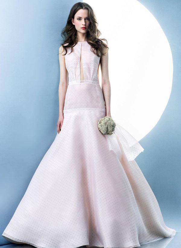 Свадебные платья с перьями новые фото