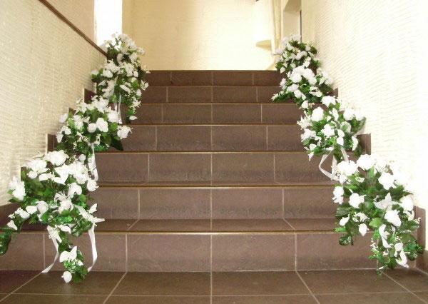 оформление свадьбы цветами фото 13
