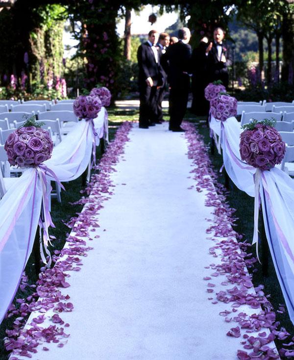 оформление свадьбы цветами фото 14