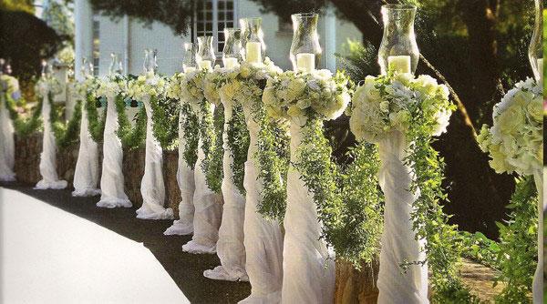 оформление свадьбы цветами фото 16