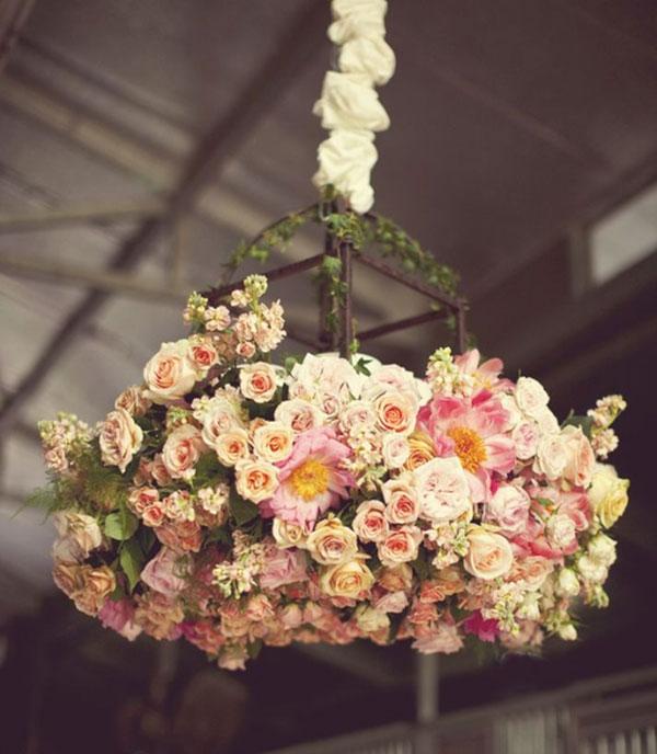 оформление свадьбы цветами фото 17