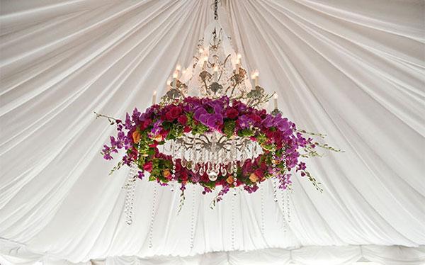 оформление свадьбы цветами фото 18