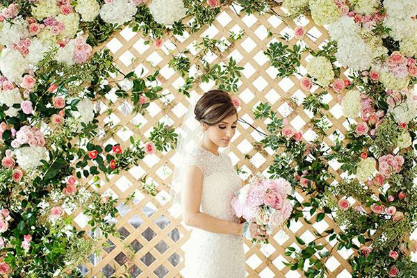 оформление свадьбы цветами фото 19