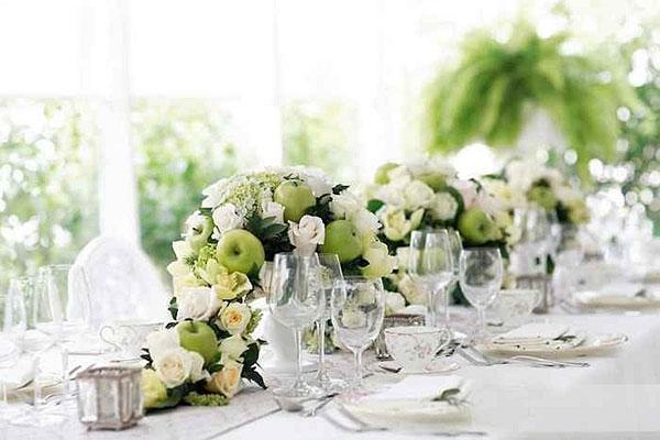 оформление свадьбы цветами фото 2
