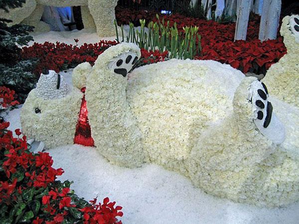 оформление свадьбы цветами фото 22