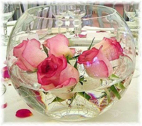 оформление свадьбы цветами фото 23