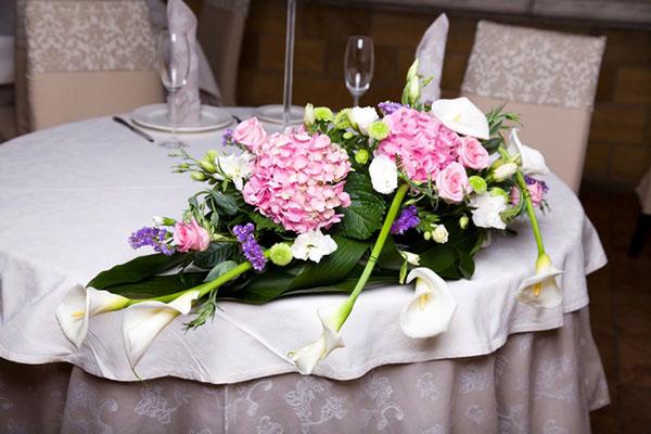 оформление свадьбы цветами фото 4