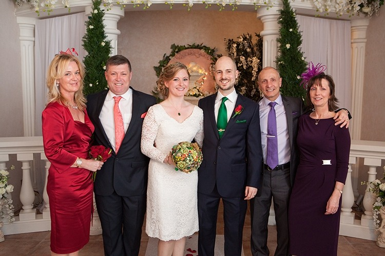 Поздравления молодоженам от мамы невесты