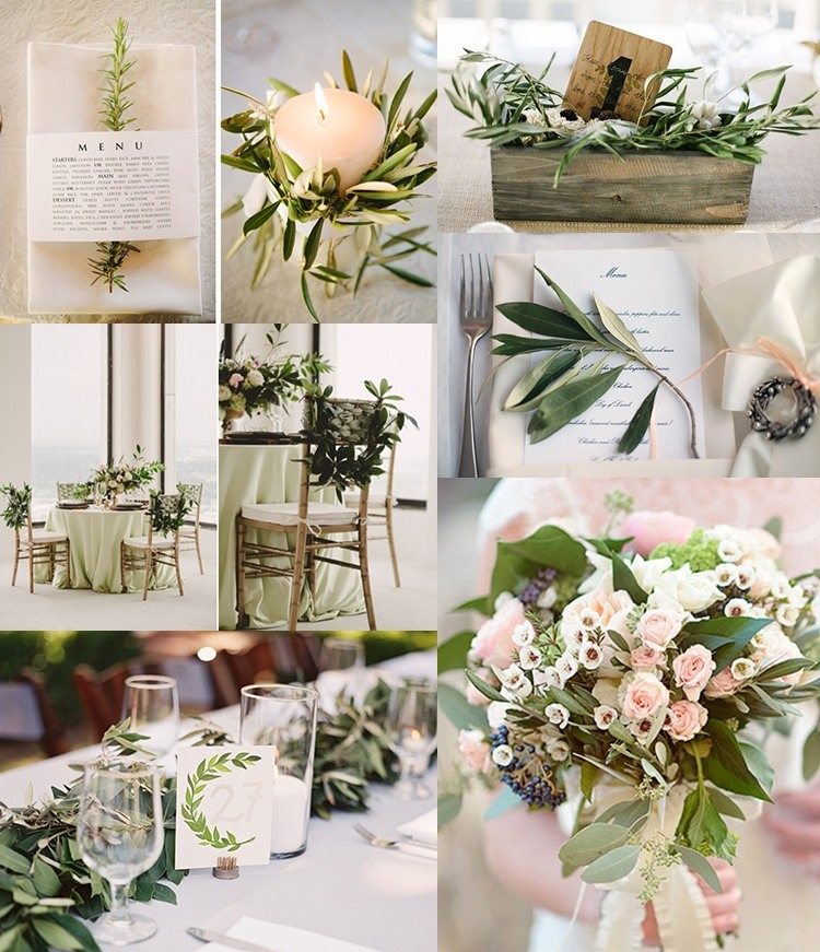 0220642f95edd1 Оливкова весілля: новий колір весільної панелі - все про весілля від А до Я
