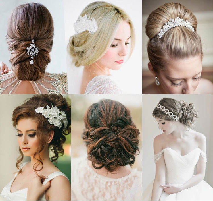 Свадебные причёски 2017 фото новинки