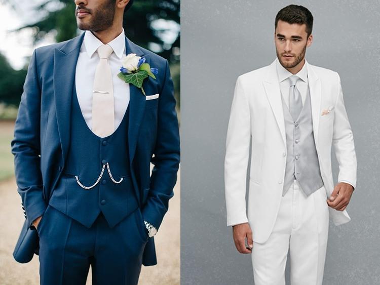 Мужские костюмы на свадьбу 2017  50+ фото идей и основных трендов 686e8828937ba