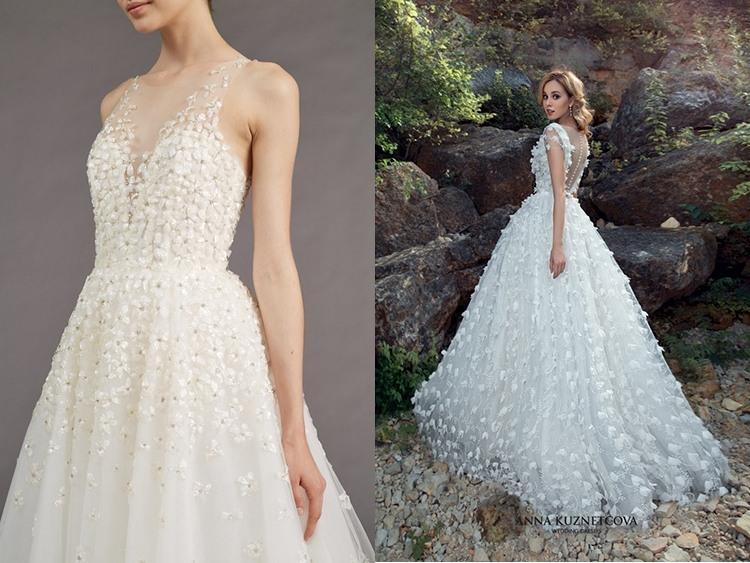 Топ платьев свадебных