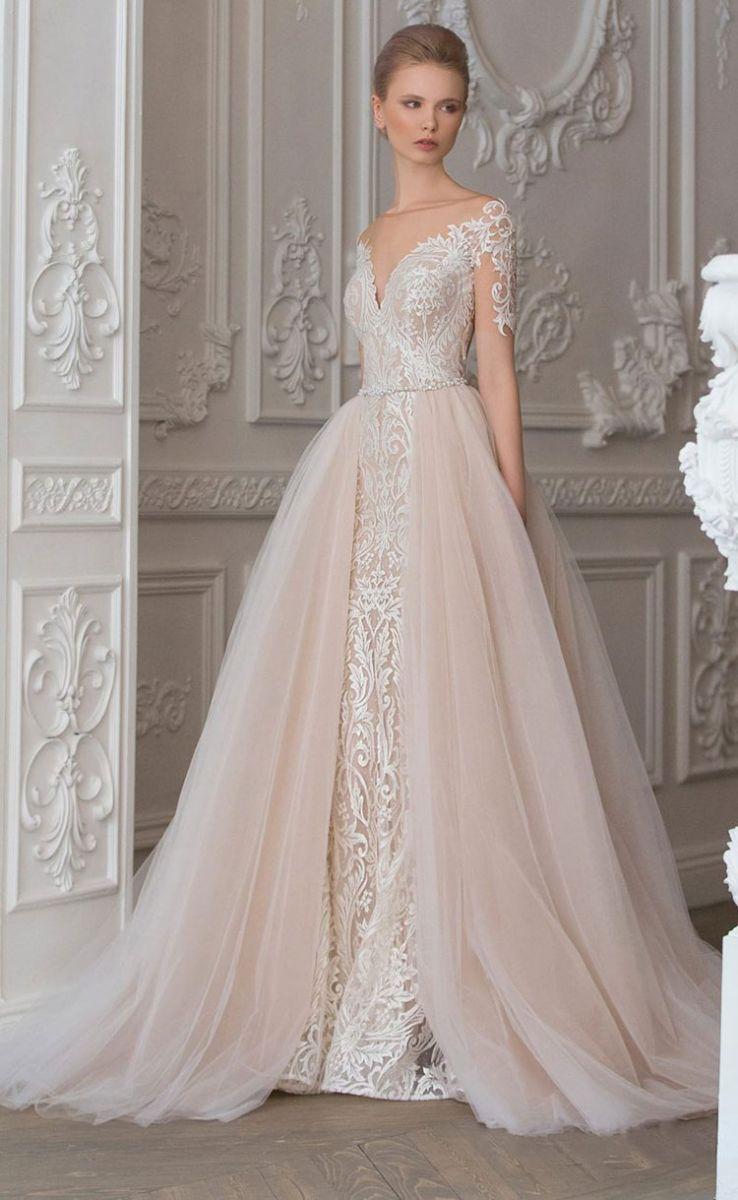 Подол платья свадебного