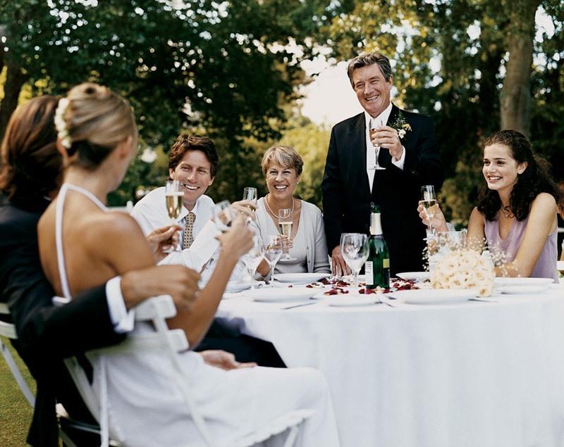 Слова про родителей на свадьбе для тамады