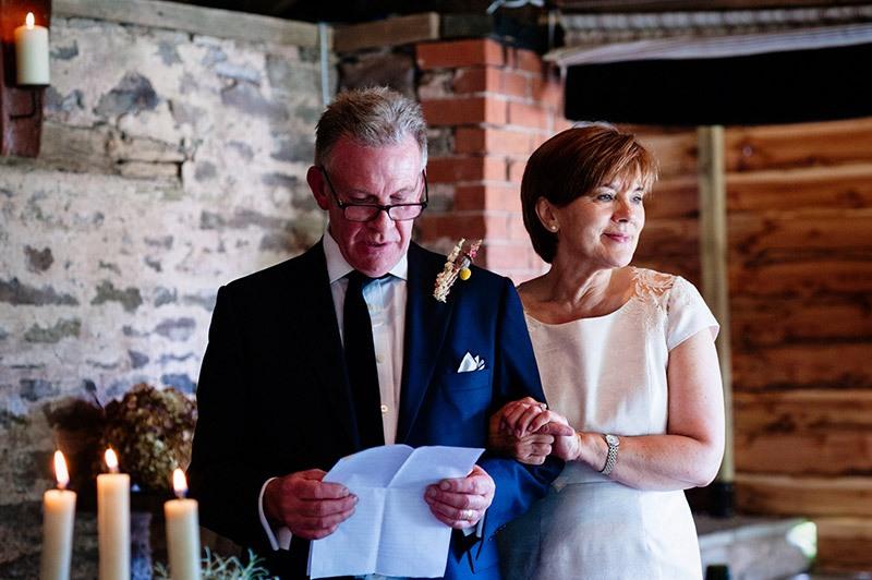 Свадебный тост от родителей жениха своими