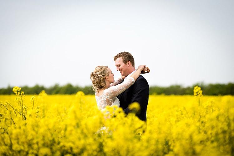 Желто-горчичная свадьба фотосессия