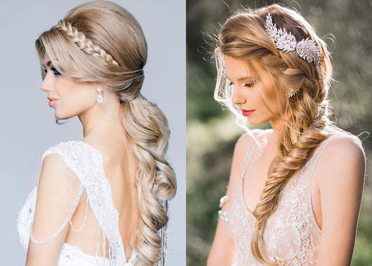 Свадебные прически на длинные волосы - 250 актуальных фотографий 64