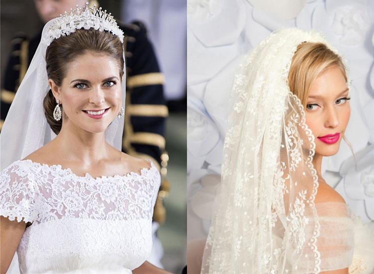 Прическа на свадьбу на короткие волосы фото с фатой и челкой