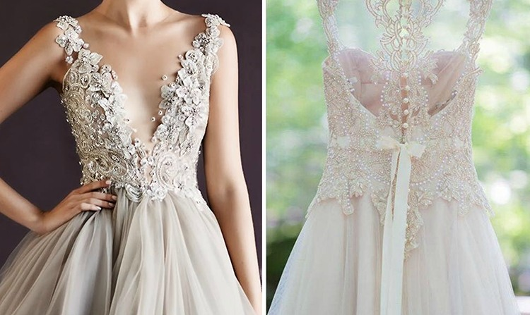 Свадьба шебби шик платья
