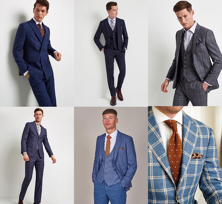 f3fab6d01b5 Шотландская клетка - тренд сезона 2019 для свадебных мужских костюмов