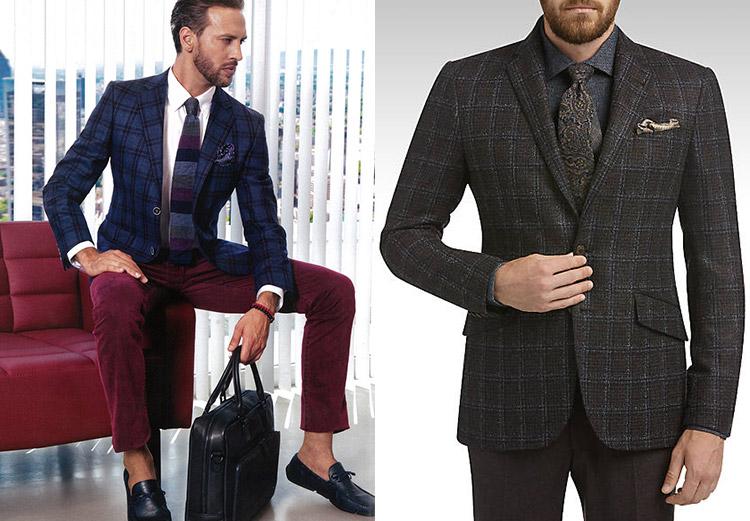 a8bffbc29b1 Комбинирование тканей и принтов - тренд свадебной мужской моды 2018. Пиджак  или костюм ...