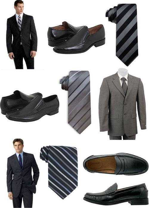 Мужской костюм цвета айвори 7