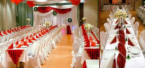 Оформление зала свадьбы своими руками