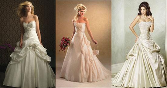 Айвори цвет свадебного платья