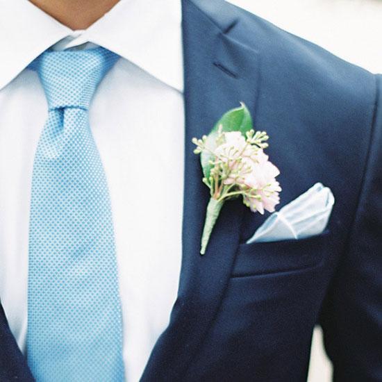 свадьба в синем цвете фото 13