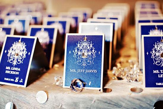 свадьба в синем цвете фото 3