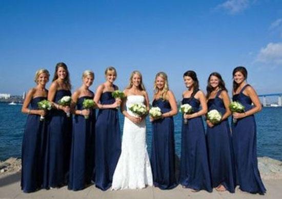 свадьба в синем цвете фото 6