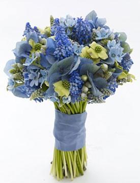 свадьба в синем цвете фото 7-1
