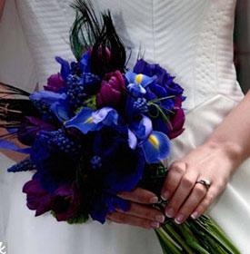 свадьба в синем цвете фото 7-3