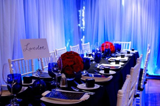 свадьба в синем цвете фото 8