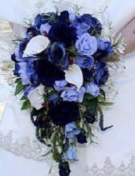 свадьба в синем цвете фото 7-2