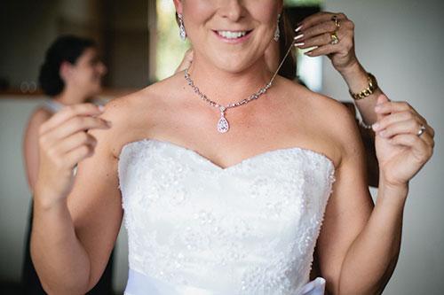 Свадебные украшения на шею для невесты