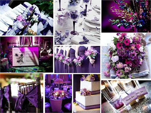 оформление цветных свадеб фото 4