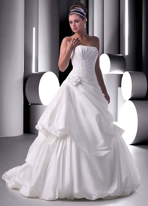 Фото свадебных платьев из корсета