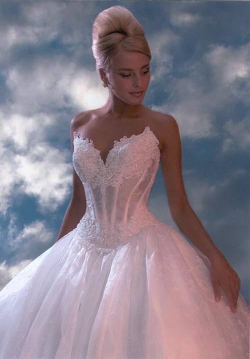 Свадебный корсет под платье