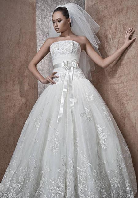 цвет свадебного платья - белый