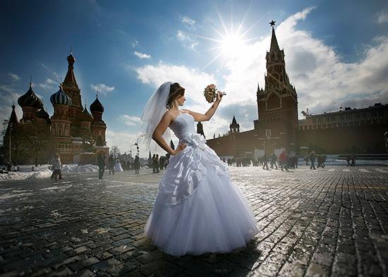 интересные и оригинальные идеи для свадебной фотосесисии фото 15
