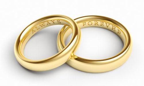Обручальные кольца с надписями фото