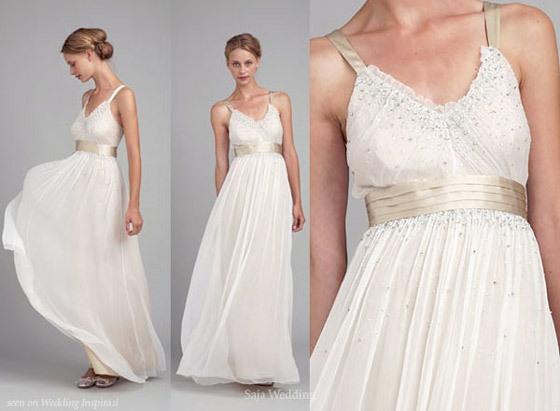 Украшения для свадебного платья в греческом стиле