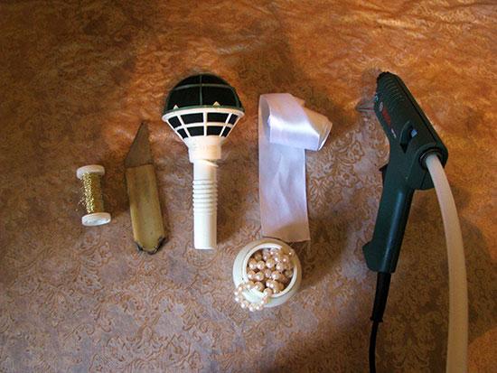 инструменты и материалы для создания букета невесты своими руками