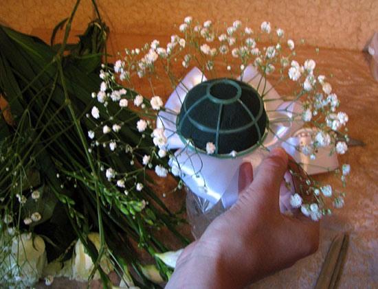 Микрофон для букета невесты своими руками
