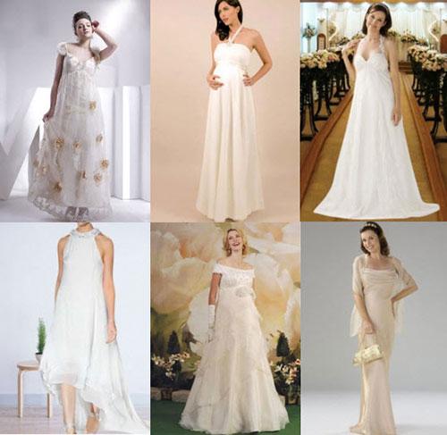 Свадебные платья для беременных фото 1