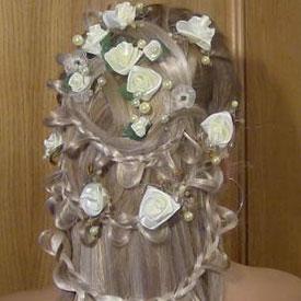 Свадебные прически с цветами фото 5-2