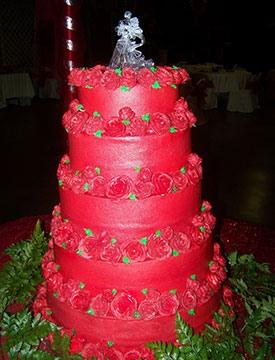 свадьба в красном цвете фото 10-1