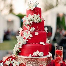 свадьба в красном цвете фото 10-3